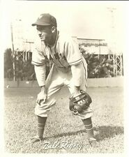 specs BILL RIGNEY 8x10 ACTION PHOTO Vintage B&W Picture NEW YORK GIANTS Baseball