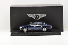 1 43 Kyosho Bentley Flying Spur W12 2012 Darkblue-metallic