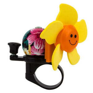 Sunlite Windmill Bell Alloy Pink/Yellow