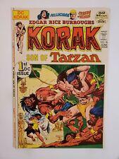 KORAK SON OF TARZAN #46 (VF/NM) 1972 1st DC ISSUE! JOE KUBERT COVER ART