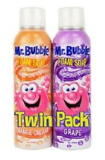 Mr. Bubble Foam Soap Assorted Fun for the Shower Sink and Tub 8 oz 2 count