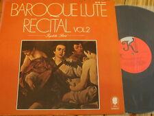 KS 528 Baroque Lute Recital Vol. 2 / Satoh