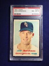 1957 Topps Jack Harshman #152 PSA 8 Chicago White Sox