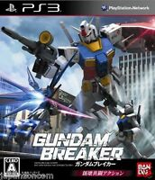 Used PS3 Gundam Breaker SONY PLAYSTATION 3 JAPAN JAPANESE IMPORT