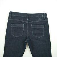Esprit - Bootcut Mid Rise Dark Blue Stretch Denim Jeans Women's Size 12 W32