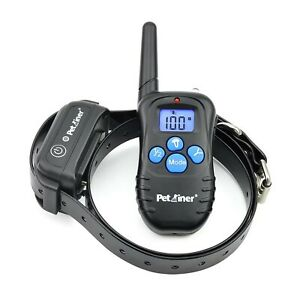 Petrainer 100% Waterproof Dog Shock Collar with Remote Dog Training Colla... New