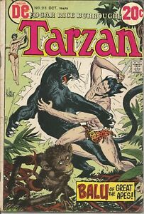 Tarzan (1972 series) #213 Oct. 1972 GD- DC Comics ID #773 4/21