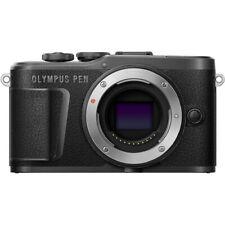New Olympus PEN E-PL10 Mirrorless Digital Camera Body - BLACK