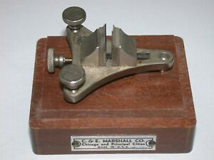Marshall Wood Boxed Pocket Watch Poising Tool. 30C