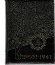 Hardin Simmons University Abilene Texas 1941 Yearbook Annual