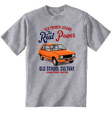VINTAGE FRENCH CAR CITROEN LNA - NEW COTTON T-SHIRT