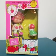 Strawberry Shortcake Cherry Cuddler w Gooseberry Vintage Doll 1982 Sealed #44220