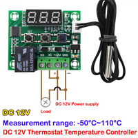 Thermostat Switch DC 12V Temperature Controller Digital Display Module Board DIY