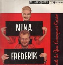 NINA AND FREDERIK With the Jorn Grauengaard Quintet LP VINYL Germany Metronome