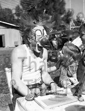 Circus Clown, vintage photo, 1950's
