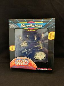 STAR WARS MICRO MACHINES REBEL FORCES GIFT SET- GALOOB 65836 1994 NEW KG A2