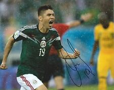 ORIBE PERALTA Signed Autographed 8x10 Photo Mexico America Soccer World Cup COA