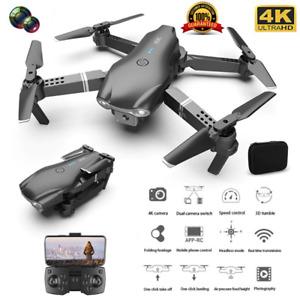 Quad air Drone S602 WIFI FPV 4K HD Dual Camera RC Quadcopter Free Shipping +3B