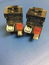 ONE - 15 Amp PUSHMATIC Bulldog 1 Pole Circuit Breaker 31115 Red Tag Same as P115