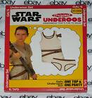 NEW Underoos Underwear Set Rey Jedi Star Wars Junior's XXL 2XL Cosplay Gals