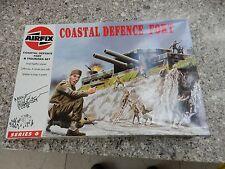 Airfix Caja sólo (vacío en muy buen estado) Vintage costal defensa Fort 06706 Caja vacía