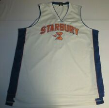 Starbury Stephon Marbury #3 New York Knicks Sewn Stitched Basketball Jersey 2Xl
