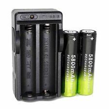 Dual Smart Charger for 18650 4.2V 5800mAh Li-ion Rechargeable Batteries EU/US GB