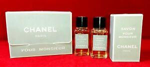 ღ Pour Monsieur - Chanel - EDC & AS & Savon 2x 19ml