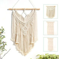 Macrame Wall Hanging Tapestry Wall Decor Boho Chic Bohemians Woven Home Decor