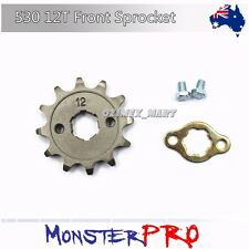 20mm 530 12t Teeth Front Chain Sprocket 250cc 300 ATV Quad Dirt Bike Buggy Pit