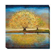 Season of Reflection by Melissa Graves-Brown Gallery-Wrapped Canvas Giclee Art
