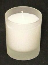 200 Table Votive Candle 6cm Frosted Glass Holder White Wax Wedding Party Event