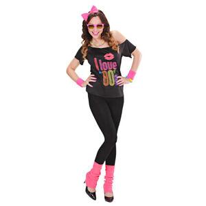 80er Jahre Madonna Kostüm Outfit Popstar Kleidung 80s Disco Tanzkostüm Nena