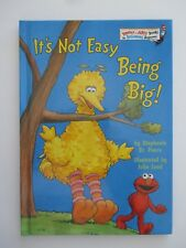 *** New It's not easy being Big! Kid's Book Beginner Books - FAST Shipping