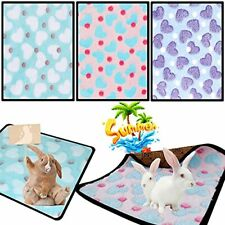3 Pieces of Hamster Bunny Mat Bunny Bedding Small Animal Bed Guinea Pig Bed m.