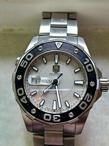 TAG Heuer Aquaracer Silver Men's Watch - WAJ2111.BA0870
