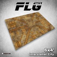 FLG Mats: Interstellar City 6x4' High Quality Neoprene Tabletop Gaming Mat