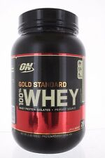 OPTIMUM NUTRITION Gold Standard 100% Whey 2Lbs Protein Isolates Primary Source C