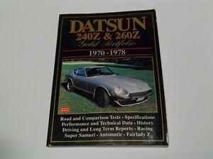 Brooklands Datsun 240Z & 260Z Gold Portfolio 1970-1978 Road Test Book.