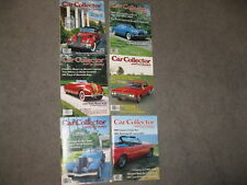 CAR COLLECTOR & CAR CLASSICS MAGAZINE BACK ISSUES 6 TOTAL SOLD AS LOT