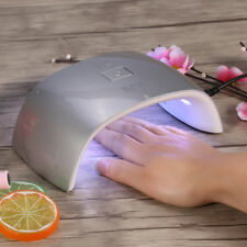 10 Styles Manicure UV Nail Lamp 18W LED Gel Polish Curing Double Light Dryer D8