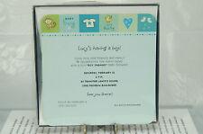 New Baby Boy Announcements Hallmark~10 In Box~Printer Or Pen~Free Ship Us