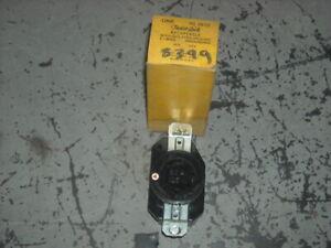 Hubbell  IG-2610 Twistlock Receptacle  iSO Grd