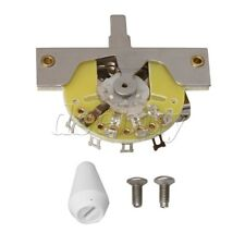 White Switch Knob 5-way Pickup Lever Switch for Electric Guitar