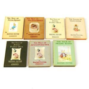 Beatrix Potter Book Bundle x 7 F Warne Illustrated FREE UK Postage
