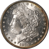 1879-O Morgan Silver Dollar PCGS MS63 Great Eye Appeal Strong Strike