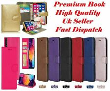 Flip Book case Cover For Samsung A10 A20 A20e A30 A40 A50 A70 A80 Leather Wallet