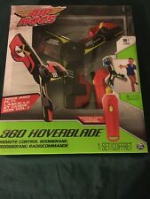 Air Hogs Red/Yellow 360 Hoverblade RC Remote Control Boomerang New Sealed