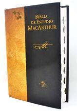 BIBLIA DE ESTUDIO JOHN MACARTHUR REINA-VALERA 1960 CON INDICE