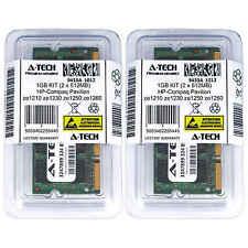 1GB KIT 2 x 512MB HP Compaq Pavilion ze1210 ze1230 ze1250 ze1260 Ram Memory